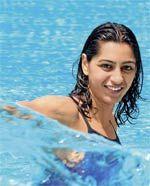 Shika tandon aka The Swimmer
