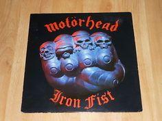 MOTORHEAD - Iron Fist - UK VINYL LP Sonos Play 1, Iron Fist, Lp, Ebay