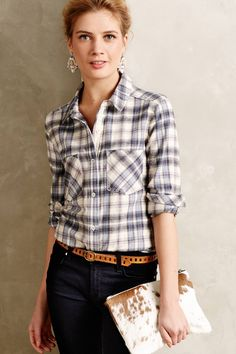 Willow Ridge Buttondown - anthropologie.com