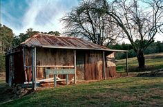 Hill End, New South Wales, Australia. (Photo undated) Photo could possibly be of an old miners cottage.  v@e.