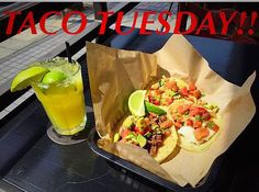 It's Taco Tuesday here @sharkscovemb !! We've got $2 tacos or 3 for $5 {chicken fish or steak} and $5 Margaritas ALL DAY!!      #tacotuesday #sharkscove #manhattanbeach #southbay #eatlocal #LAeats #tacos #instagood by sharkscovemb #instashare #sharingiscaring #love #theirsuccessisoursuccess