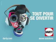 Actualités - 6/9 - H Creative Banners, Advertising, Ads, Branding, Cat Ears, In Ear Headphones, Communication, Posters, Entertaining