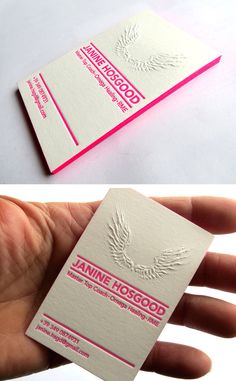 17 best embossed business cards images on pinterest embossed 12 of the most attractive embossed business cards colourmoves