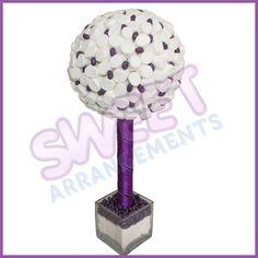 White and purple Sweet Tree
