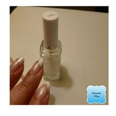 How to apply a French manicure tutorial guide. on etsy.com