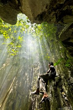 Cave of God, Cambodia ...   By:  Mardy Suong