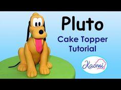 How to make Mickey Mouse (Cake Topper) / Cómo hacer a Mickey Mouse para decorar tortas - YouTube