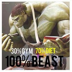It's teh diet part I gotta get on top of now. Get your #hulk on! #fitness #inspiration