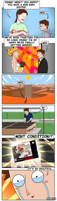 As much as I love video games, I don't think I'm that bad :P (http://www.dorkly.com)
