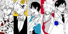 Boku no Hero Academia || Katsuki Bakugou, Kaminari Denki, Todoroki Shouto, Kirishima Eijirou, Tenya Iida.