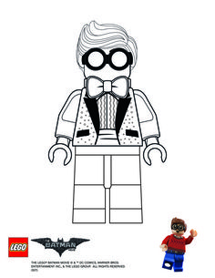 lego figure coloring lego minifigure Colouring Pages page 2