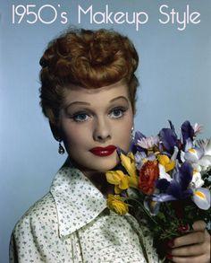 Image detail for -Vintage 1950s Makeup Style Guide   vintage makeup guide