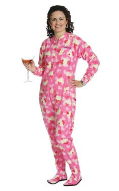 Hello Kitty Women's Character Fleece Footed Pajamas | Favorite ...