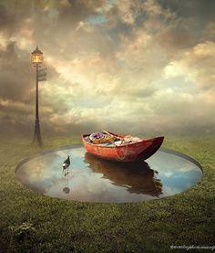 lake #photomanipulation #creativephotos #photoshop #graphicdesigners