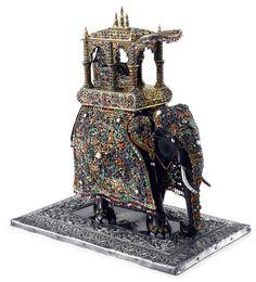 Слон – символ силы, победы и власти   антикварная коллекция.