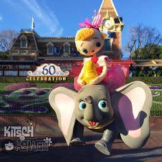 Flying in to Disneyland!  #kitschandkawaii #itakephotosofmytoysinpublic #dollcollector #kawaii #kawaiidoll #vintagekawaii #posedoll #posedolls #bradleydoll #japanesedoll #kitsch #kitschy #cute #bigeyes #bigeyedoll #dolls #vintage #japandoll #kawaiidoll #superkawaii #disneyland #dumbo #disneylandresort #mickeymouse #dumbotheflyingelephant #disneylandcalifornia #disneyana #dollphotography #followme #instafollow #l4l