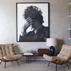 Rocker chic photograph...love the chairs...simple.