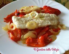 Il baccalà alla Burgalesa è un piatto spagnolo, più precisamente della Castiglia, con peperone e cipolla, si usa nella settimana santa, piatto di magro
