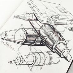 Product Design Sketch , Pen series).