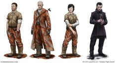 Age of Rebellion characters by thomaswievegg
