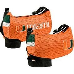 Little Earth Productions Miami Hurricanes Jersey Purse