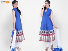 #Dazzle in utmost #simplicity Women Salwar Suit, Salwar Suits Online, Summer Dresses, Design, Fashion, Moda, Fashion Styles, Fasion, Summer Outfits