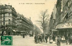 Barbès avant la brasserie et Tati – Paris ZigZag Old Paris, Vintage Paris, Rome, Paris France, History, Photographs, Amazing, Old Pictures, Luxor