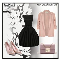 """""""Romwe 1"""" by hedija-okanovic ❤ liked on Polyvore featuring By Lassen, River Island, Élitis and Bobbi Brown Cosmetics"""