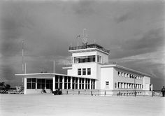 Lisbon Airport, 1942