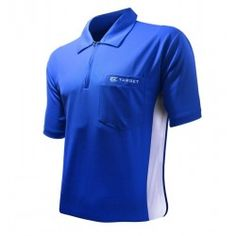 Target Cool Play Hybrid Blue and white, stunning colours, fabulous design, keeps you comfy and cool through long sessions of play. Gary Anderson Darts, Dart Shirts, Play Darts, Dart Set, Cool Stuff, Stuff To Buy, Target, Polo Ralph Lauren, Blue And White