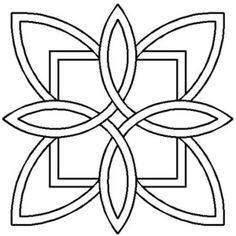 wave quilting stencils   Quilt Stencils & Templates : Quilt Stencil Celtic Design 3 Pack ...
