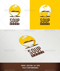Asian Food Logo : Soup House - Download…