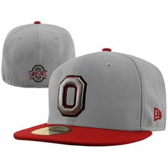 88b9be682b9 New Era Ohio State Buckeyes 59FIFTY Logo Fitted Hat - White -  17.99 ...