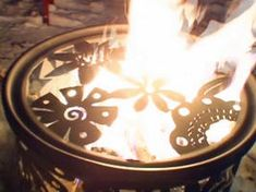 How to Build a Backyard Fire Pit:  Design a metal fire pit to transform your back patio.