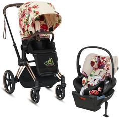 Best Convertible Cars, Cybex Priam, Cell Phone App, Travel System, Faux Leather Fabric, Spring Blossom, Back Seat, Red Ribbon, Red Stripes
