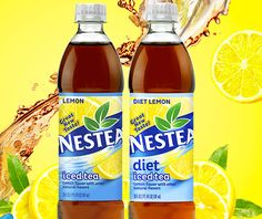ICED tea slogans - Google Search Lemon Diet, Iced Tea, Natural Flavors, Water Bottle, Google Search, Food, Essen, Ice T, Water Bottles