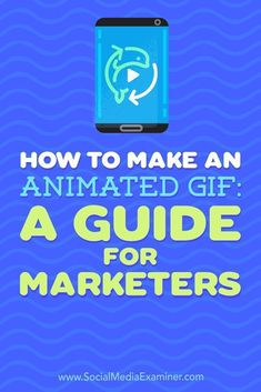 GIFs give marketers a quick, informative, or fun way to convey a message while grabbing an audiences attention.  In this article, youll discover how to make your own GIFs for social media.