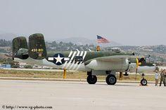 Van Gilder Aviation Photography, B-25 Flight Experience