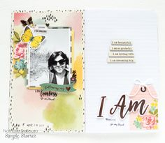 Traveler's Notebook from creative team member Nathalie DeSousa using the I AM... collection