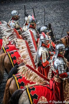 'The Polish Hussars at the Royal Armouries Museum' courtesy of Stephen Moss/Photosm