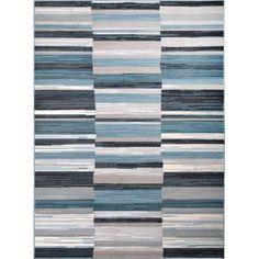 Oxford Blue-Gray Area Rug