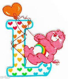 ❤️Care Bears and Friends ~ The Letter L
