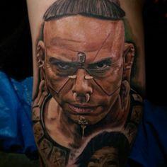 Tattoo-Foto: Apocalypto Polizeichef
