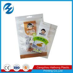 UV printed zipper seasoning bag