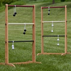 Eddie Bauer Ladder Ball Set - While you're waiting for those burgers on the grill, break out the Eddie Bauer Ladder Ball Set and get the whole family involved in the action. This l...