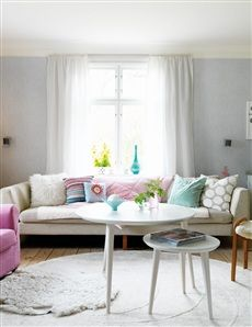 Living room with sofa from Ire Furniture