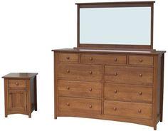 Shaker Style Bedroom Sets | ... Furniture Home  Bedroom  Amish Bedroom Sets  Gillmore Shaker Set