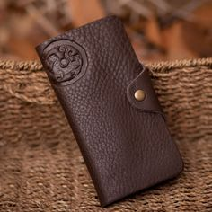 Details about LEATHER CAMEL TROPHY ADVENTURE BAGS PURSE WALLET KEY HOLDER