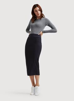 $108 Shop for the Long And Lean Pencil Skirt at Kit and Ace. Kit and Ace provides technical clothing for men and women.
