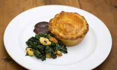Maggie Beer's Coorong Angus Beef and Red Wine Pie with Cavolo Nero and Quince